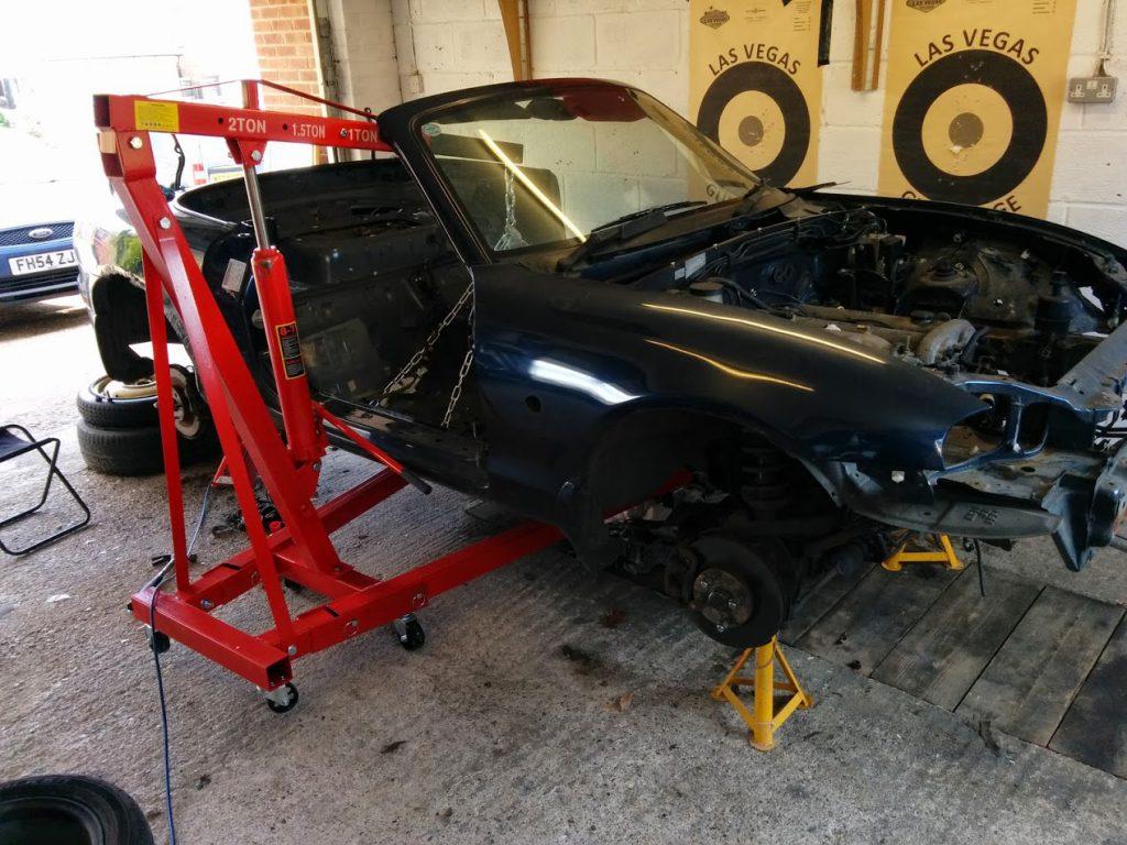 Mazda MX5 Miata Winch