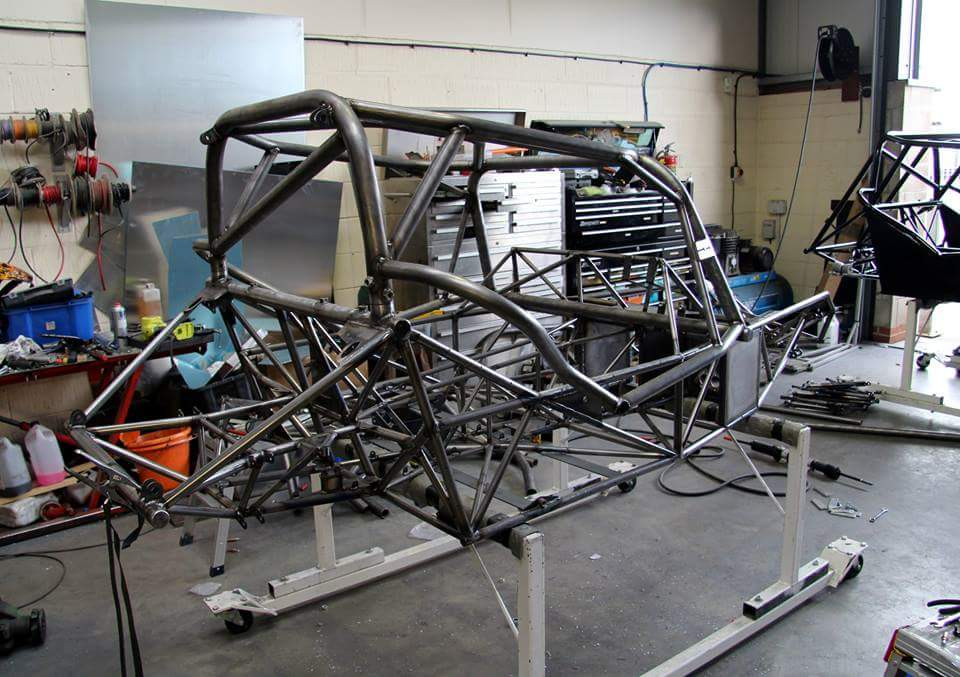 Roadrunner SR2 Chassis Coated