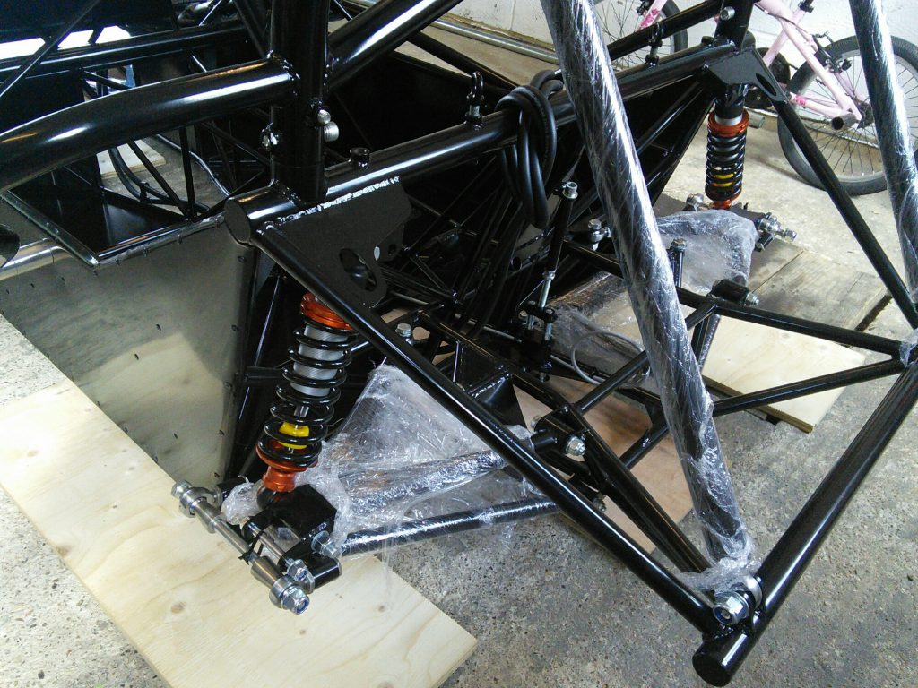 Roadrunner SR2 Chassis Back End
